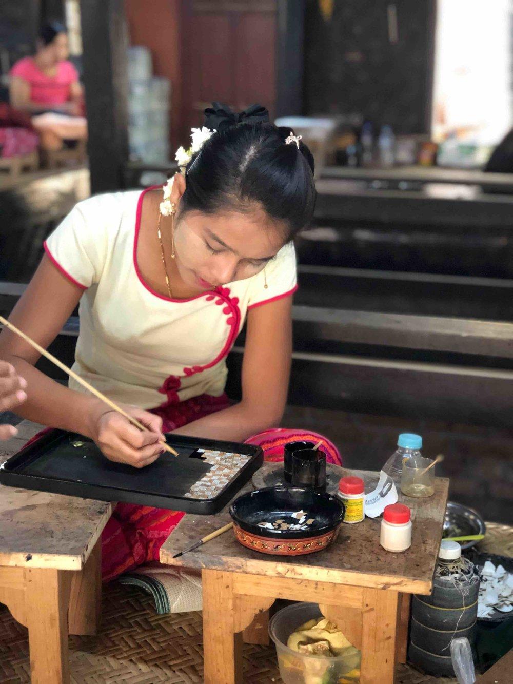 Bagan Laquer Workshop