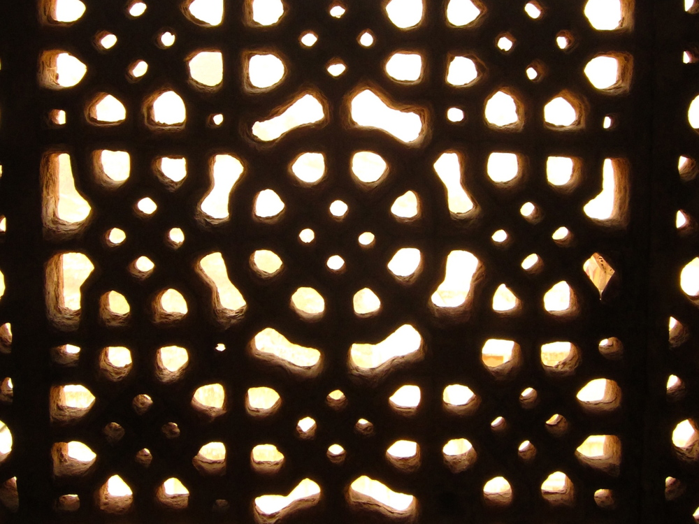 Lattice at Amer Fort, Jaipur.