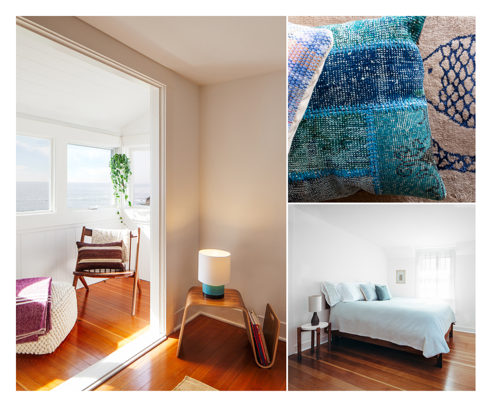 More gorgeous rooms from the location in Santa Cruz.... did I mention it's my dream house!