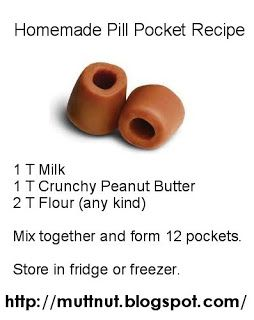 Homemade Pill Pocket Recipe