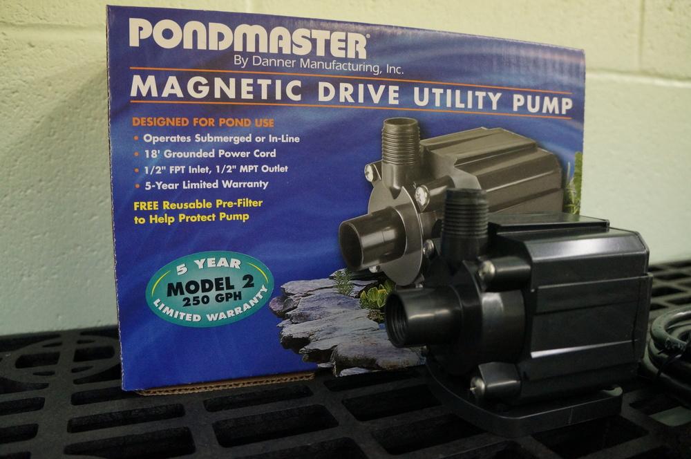 Mag Drive 250 GPH Pump