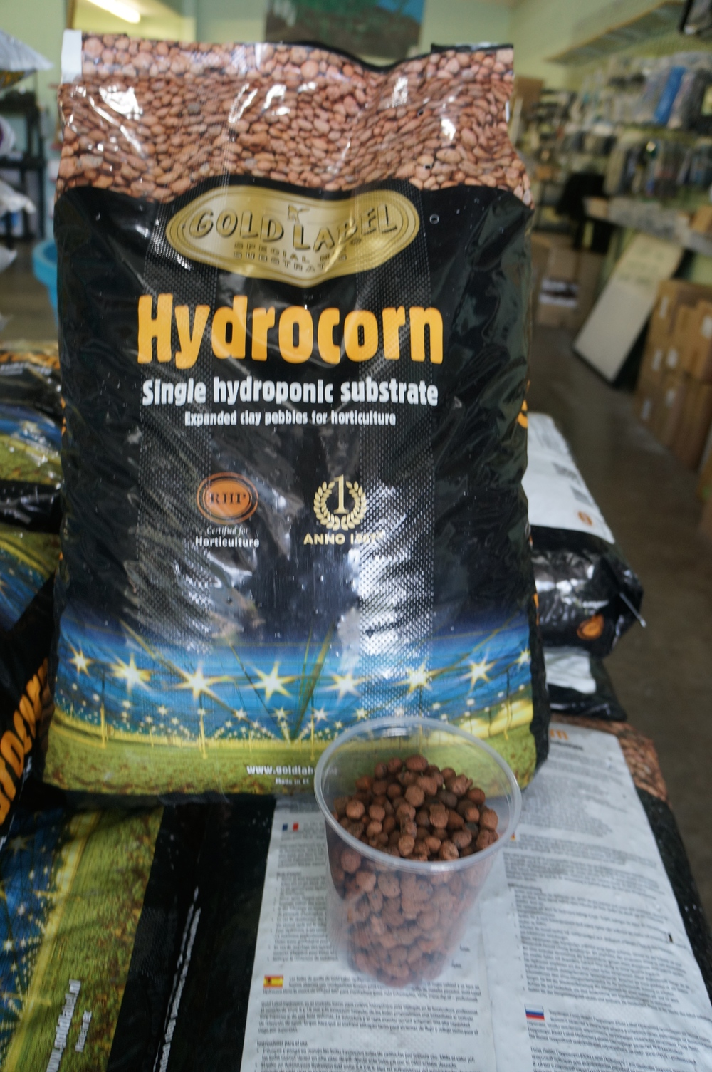 Hydrocorn (Expanded Clay)