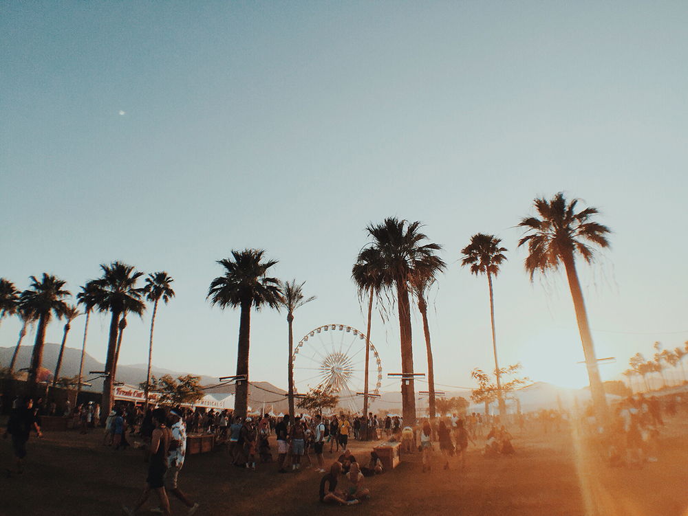 The famous Coachella ferris wheel!