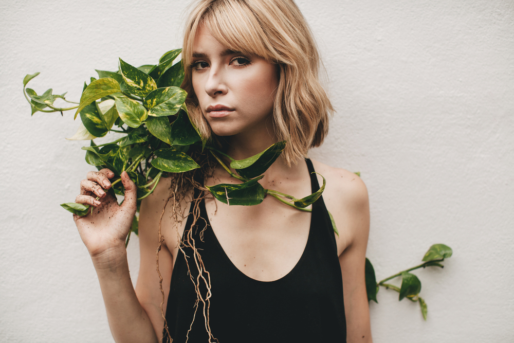 Portraits with a Plant
