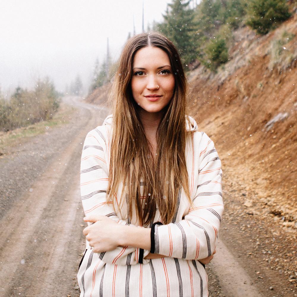 Heidi Merrick Hoodie Poncho