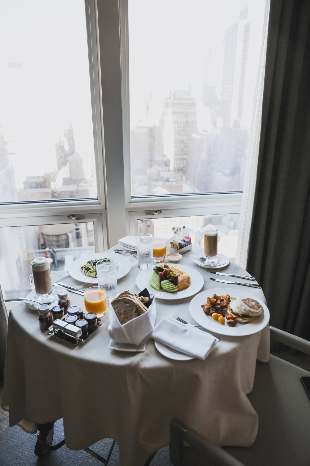 BREAKFAST WITH A VIEW  -