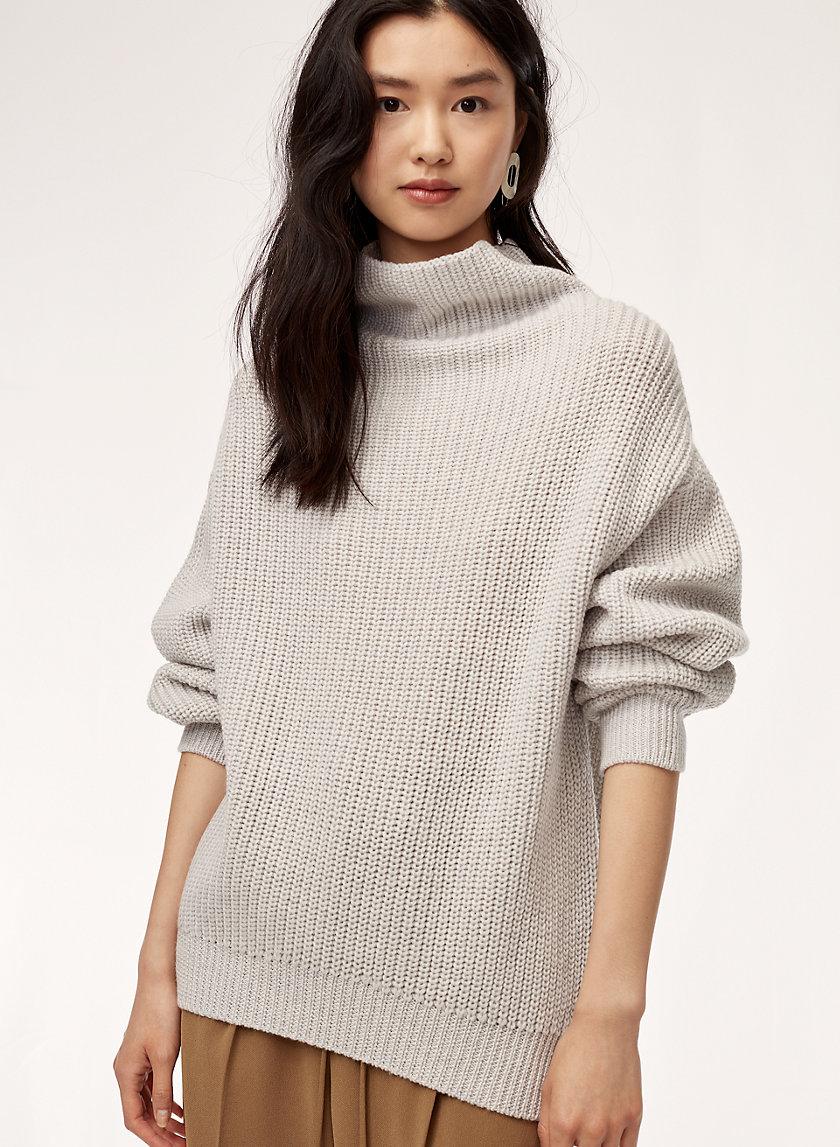 Montpellier Sweater in Heather Birch