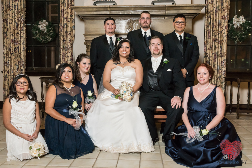 Fort Worth wedding formal portraits