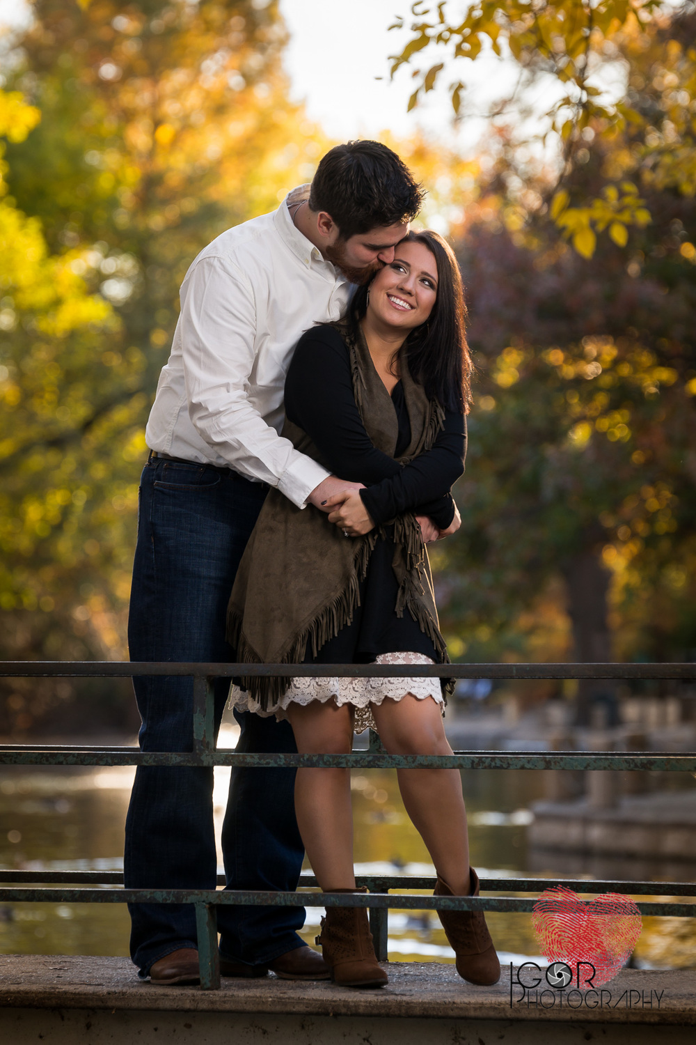 Trinity Park Engagement session