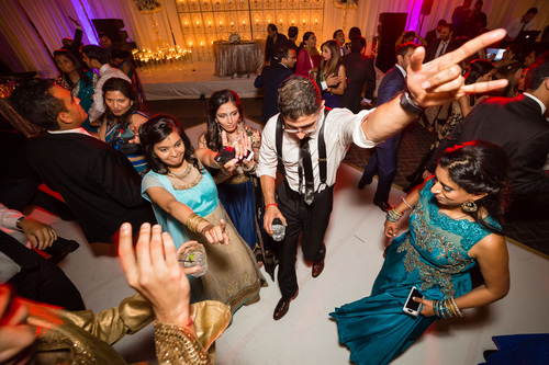 Indian Wedding Party At South Fork Ranch Reception