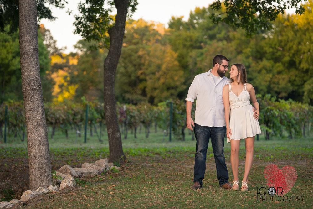 Vineyard engagement