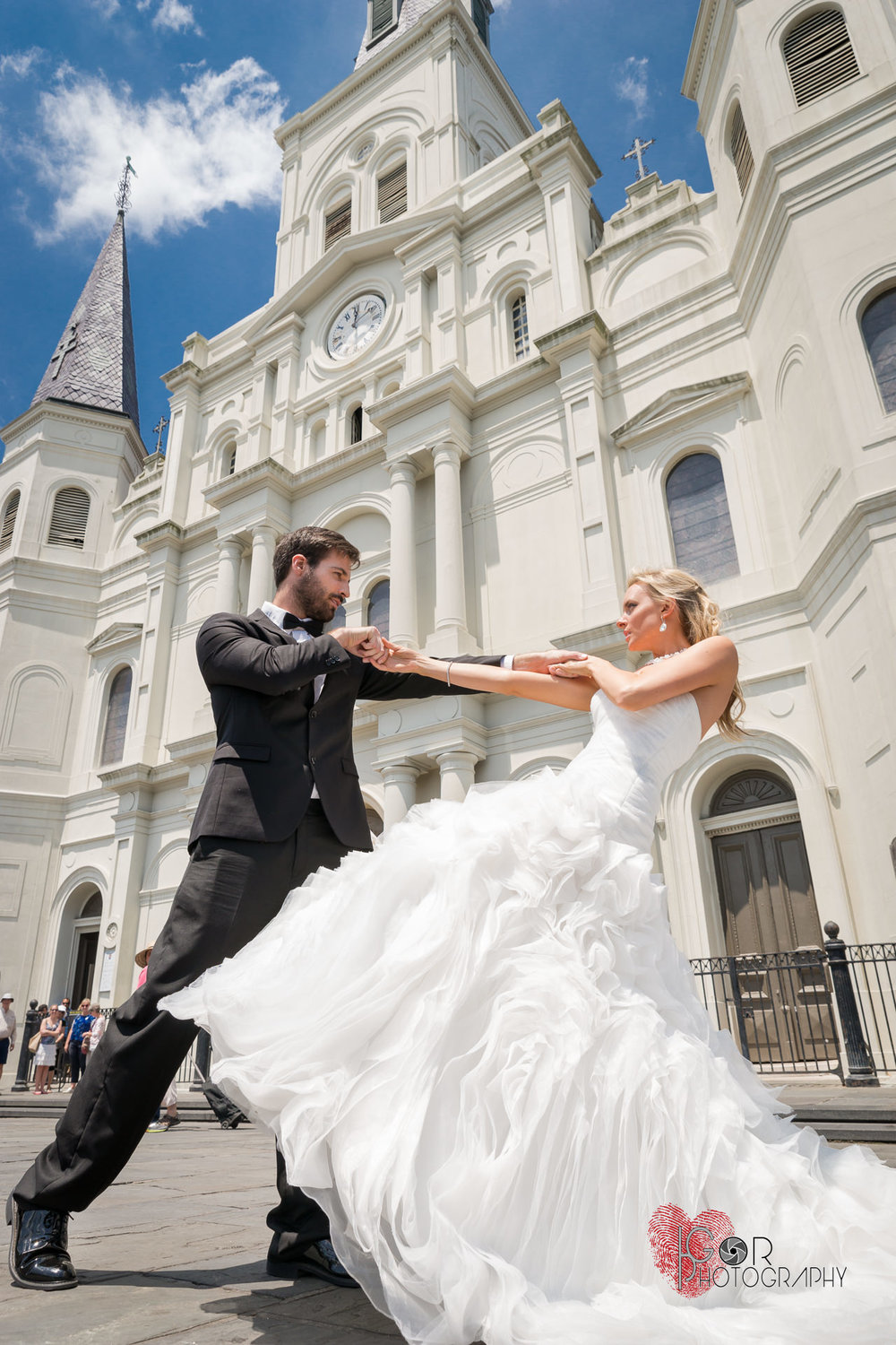 Jackson Square wedding