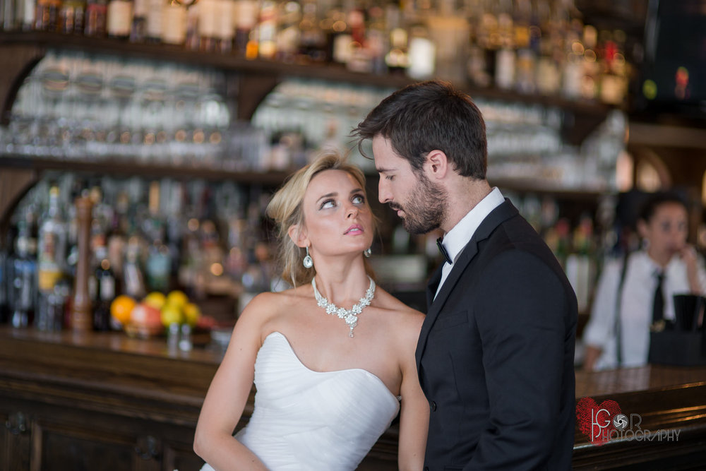 New Orleans bar wedding