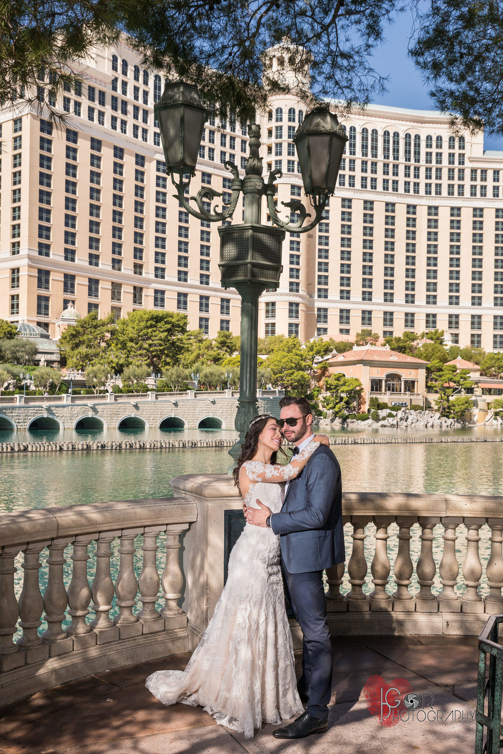 Hotel Bellagio Las Vegas wedding
