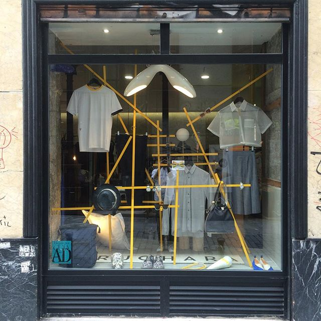 Out #windowdsiplay at Casa Quiroga (Madrid) You can find there our SS collection.