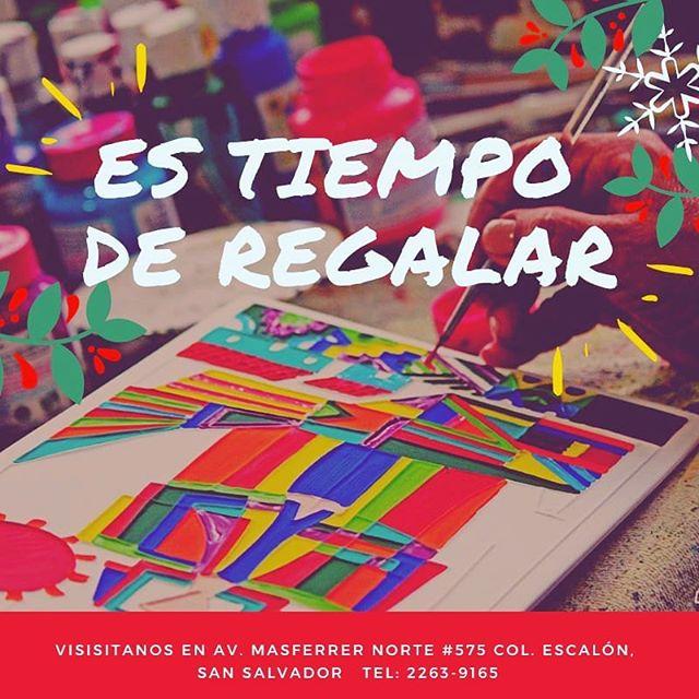 En estas fechas compartamos algo tan nuestro con los que tanto amamos. 🎄✨ Productos elaborados por artesanos salvadoreños, elaborados con mucho amor para  nuestros clientes. 🇸🇻👐🏼💕