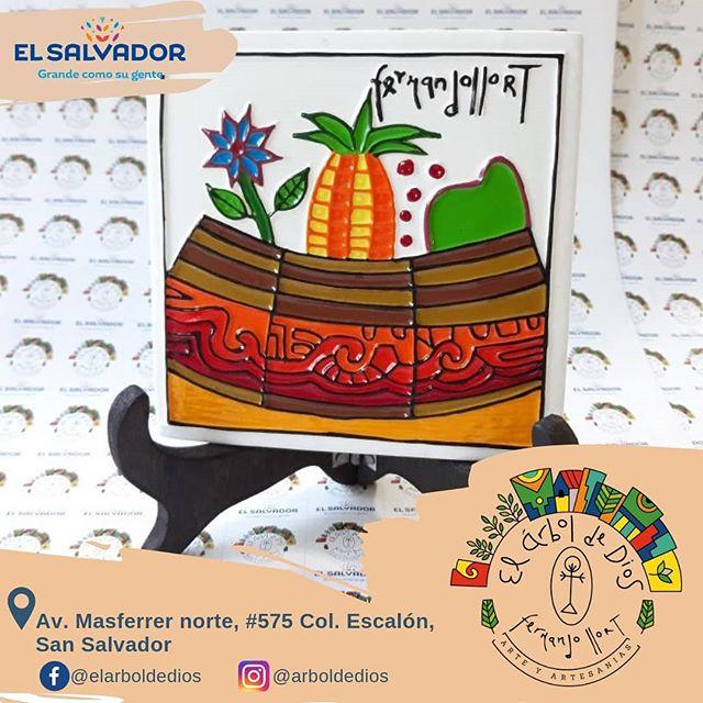 El arte del artista que se convirtió en parte de la cultura de El Salvador 🎨🇸🇻✨