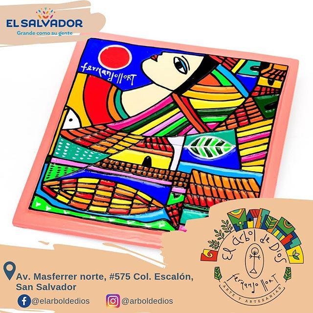 """Azulejo """"Beso al Sol"""" 🌞 Encuentralo en nuestra tienda o en el sitio web www.fernando-llort.com"""
