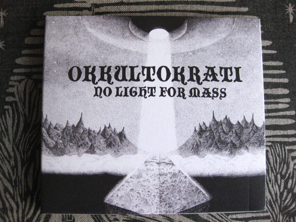 Okkultokrati - No Light For Mass CD (2010)