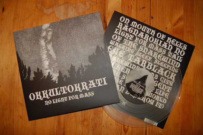 Okkultokrati - No Light For Mass LP second press (2010)