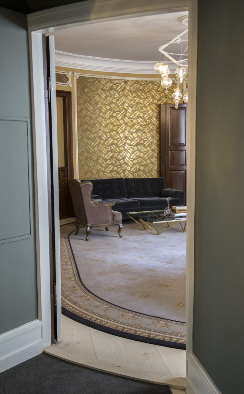 Special designed carpet by MAKWäRK, made by Ege