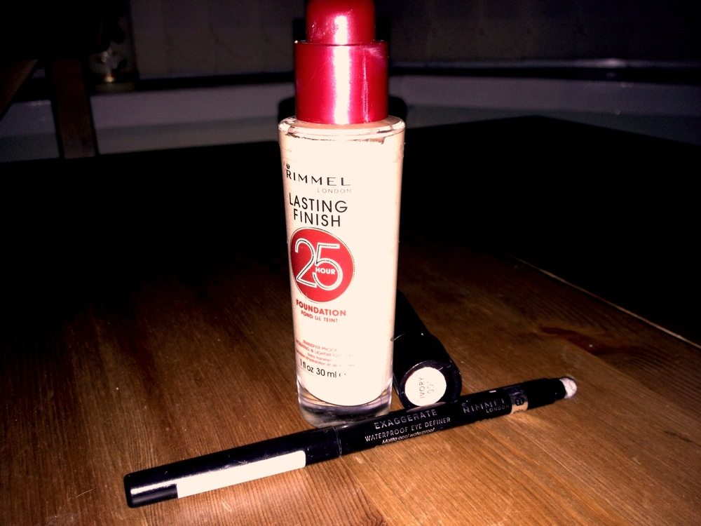 Top three make up must haves