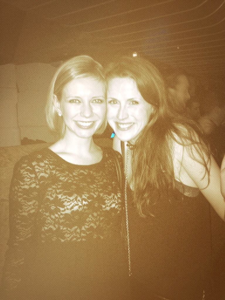Lovely Rachel Riley and her new best mate