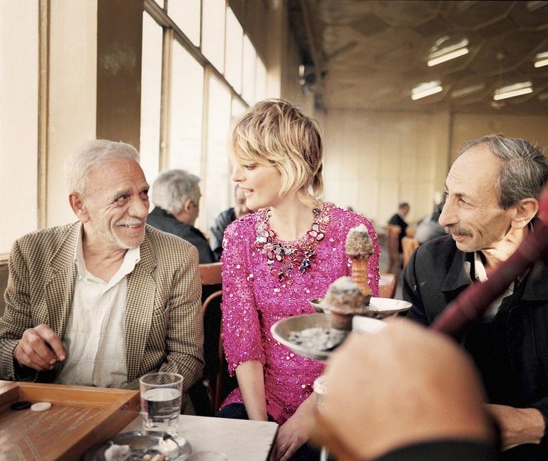 Damascus Vogue shoot