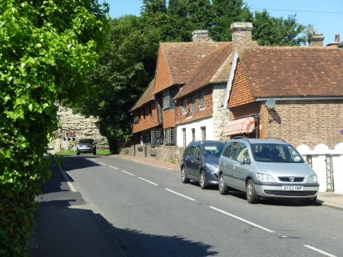 Pevensey High Street
