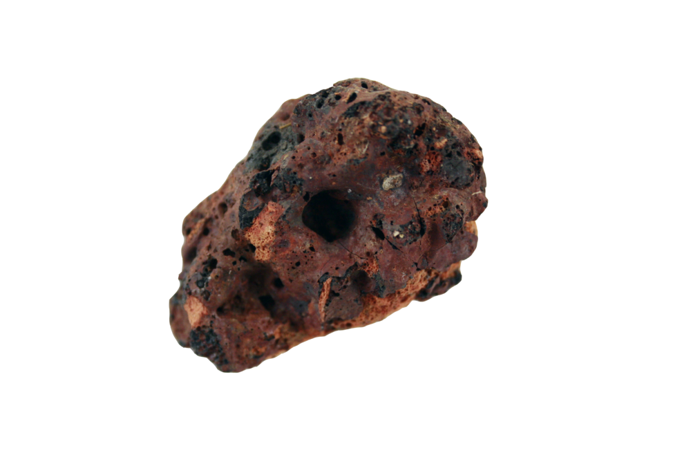 specimen #4 Clinker Slag: by-product of the iron & steel industry