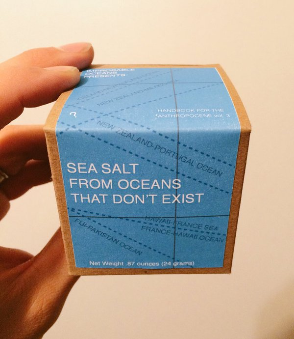 SEA SALT FROM OCEANS THAT DON'T EXIST (HANDBOOK FOR THE ANTHROPOCENE VOL. 2) (2015)