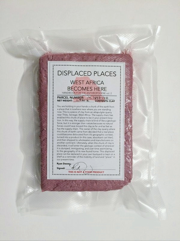 DISPLACED PLACES: WEST AFRICA BECOMES HERE (2015)  (HANDBOOK FOR THE ANTHROPOCENE VOL. 3)