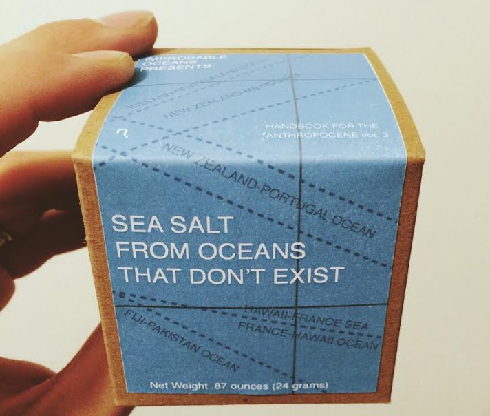 SEA SALT FROM OCEANS THAT DON'T EXIST - IMPROBABLE OCEANS