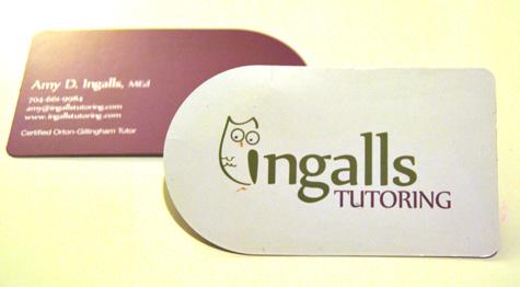 New Logo, Business Cards for Ingalls Tutoring — stir studios