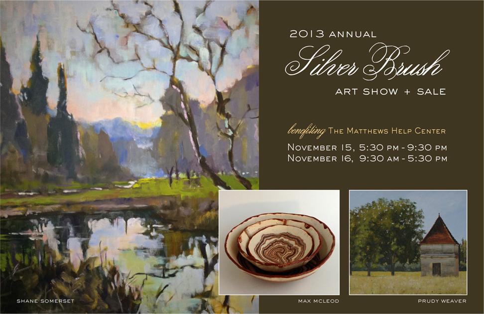 Silver Brush Invite: Front