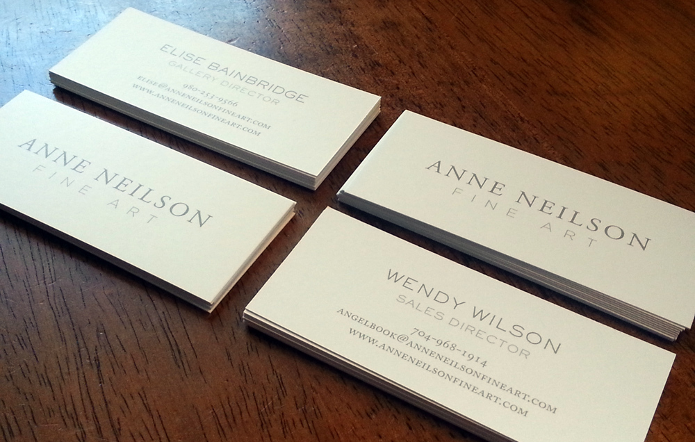 Modern fine business cards frieze business card ideas etadamfo gallery business cards stir studios colourmoves
