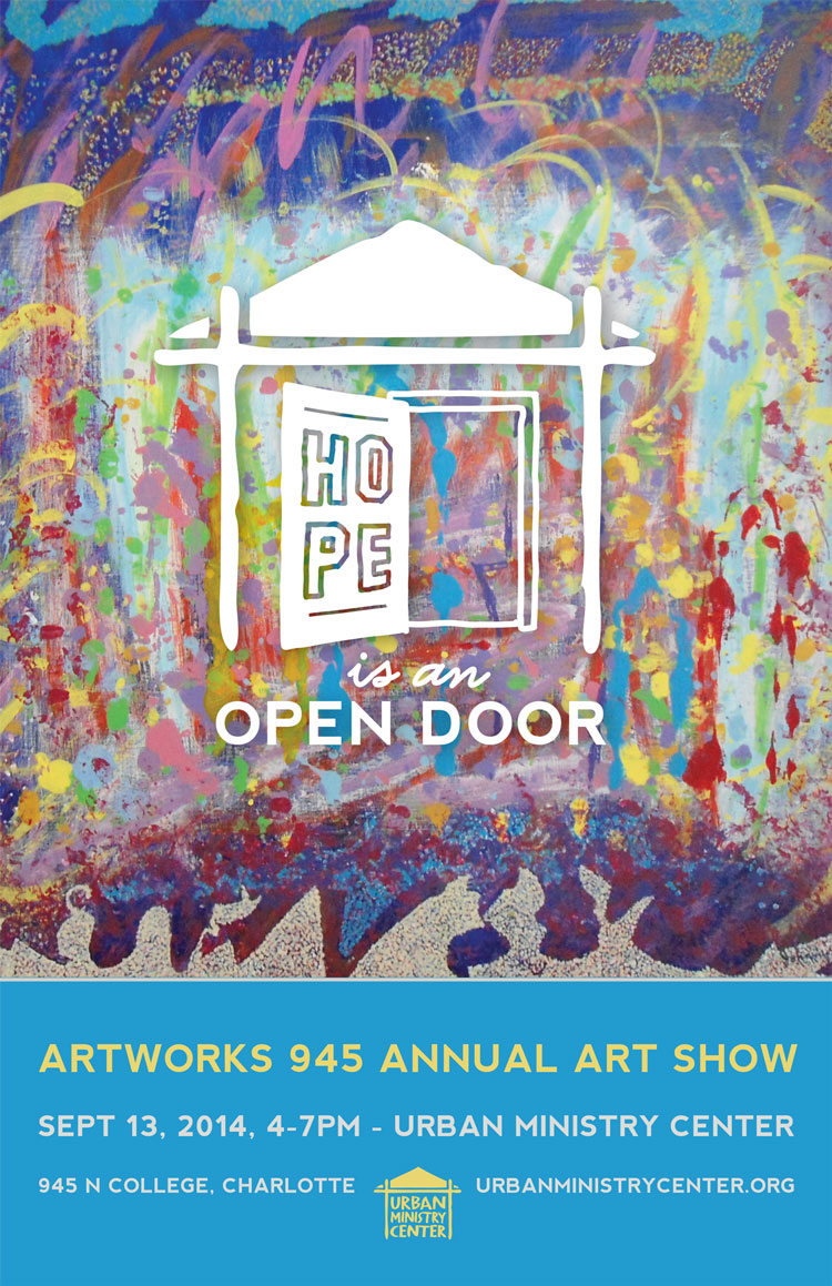 Artworks945 2014 Art Show Poster
