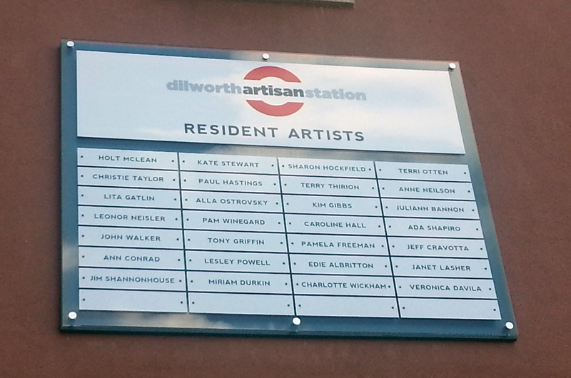 dilworthartistanstationsign