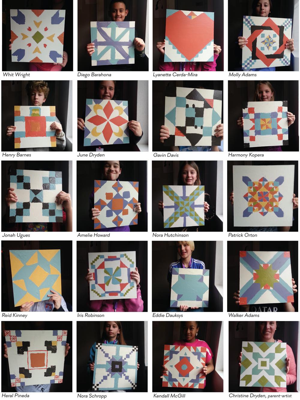 Chantilly Montessori Gallery Crawl, Mr. Corey Nutting's Class, 2015