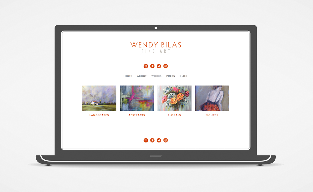 Wendy Bilas Website: Work