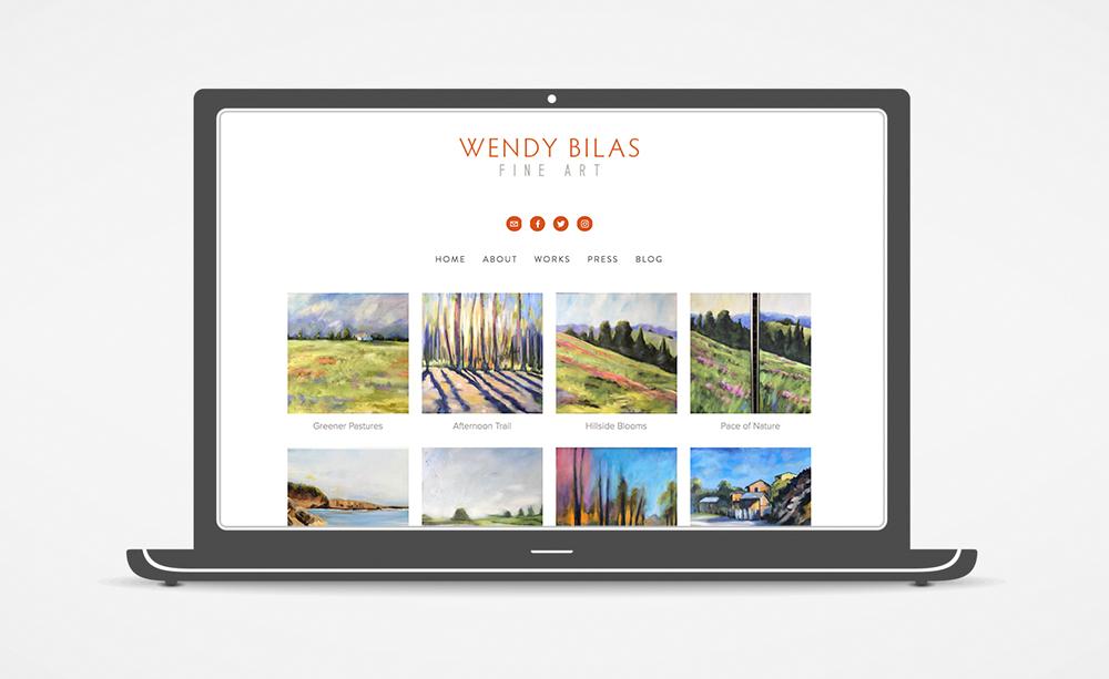 Wendy Bilas Wesbsite: Landscape Gallery