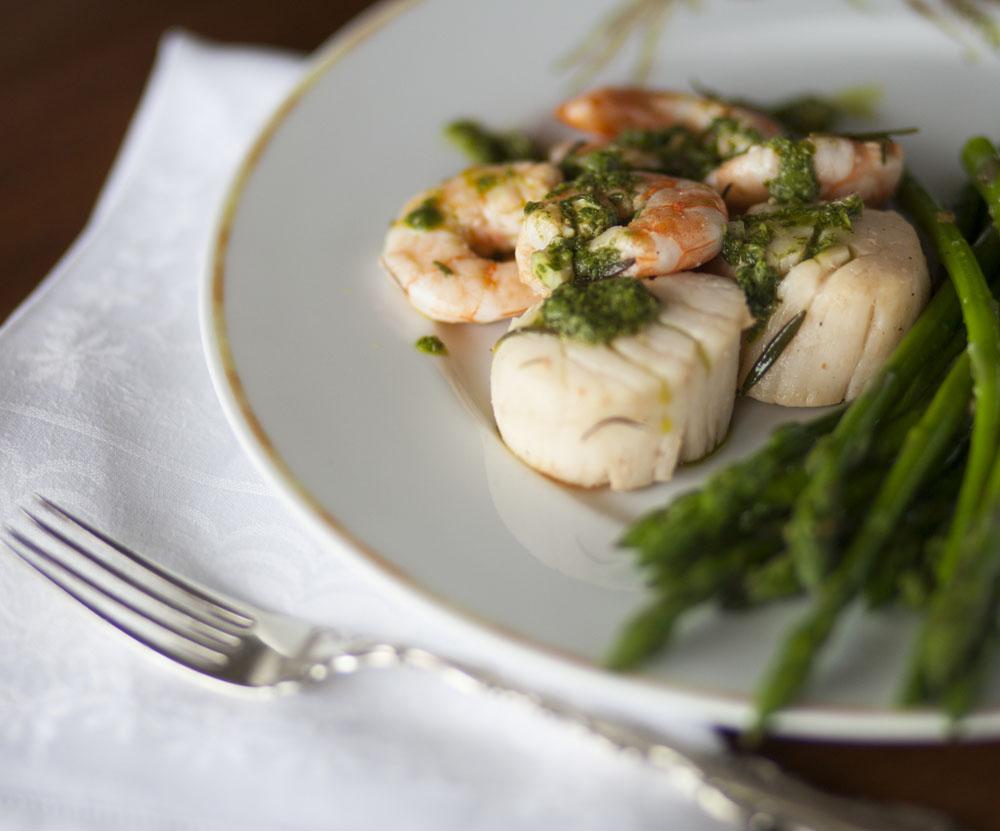 Effortless Entertaining: Scallops and Shrimp
