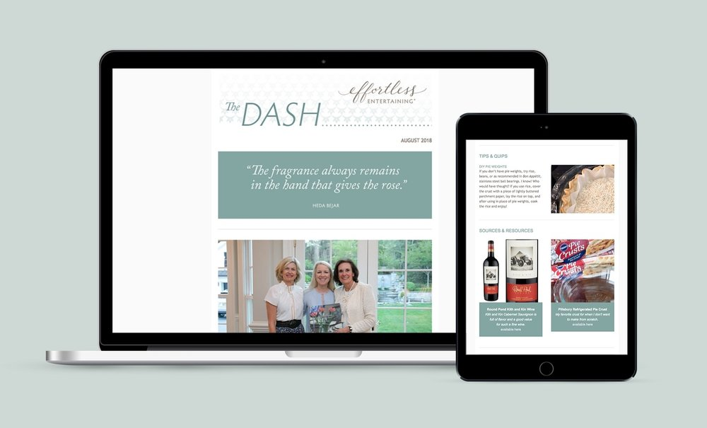 """The Dash"", non-member newsletter"