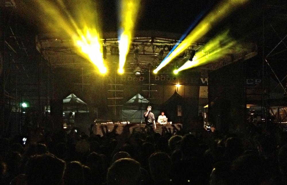 Danny Brown at Phillips Backyard, Rifflandia Music Festival, Victoria, BC. September 11, 2014.