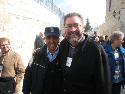 Fr. Todd in Bethlehem