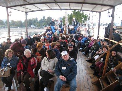 Sailing the Sea of Galilee