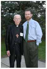 Jeff Cavins and Bishop Paul Dudley