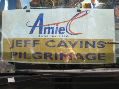 Cavins Tour Bus