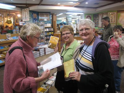 JoAnn and Ladies in Book Store