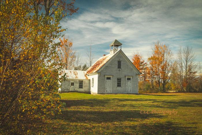 One Room School House, Maine...